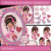 Rhythm Everywhere - Darkbrown