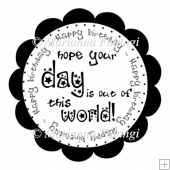 hope your day is out of this world sentiment FREEBIE