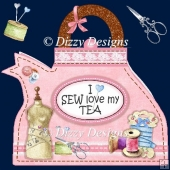 Sew Special Teapot Card
