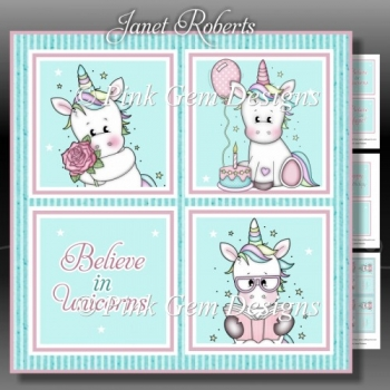 Unicorn Squares 2 Mini Kit