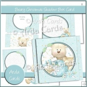 Beary Christmas Shadow Box Card
