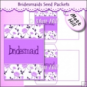 Bridesmaids Seed Packets