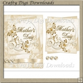 Gold Mother's Day Topper