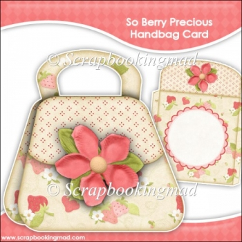 So Berry Precious Handbag Card