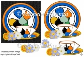 Clarice Plate With Cup & Saucer Card Design