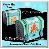 From the Sea - Treasure Chest Gift Box