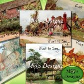 Country Cottage Notelet Set
