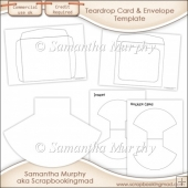 Rocker Card, Insert & Envelope Template Commercial Use