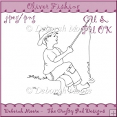 Oliver Fishing - Un Coloured