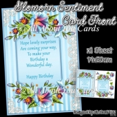 Glomorn Sentiment Card Front