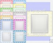 15 5x5 Lace card Fronts set 9