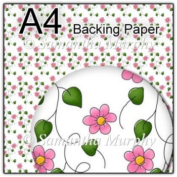 ref1_bp144 - White & Pink Flowers