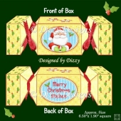 Santa Cracker Box