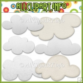Cloud Elements Commercial Use Clip Art