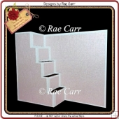 432 Stair Step Card *HAND & MACHINE CUT Files*