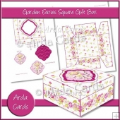 Garden Fairies Square Gift Box