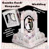 Wedding Gazebo Card/Keepsake