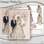 Champagne Wedding Day