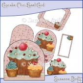 Cupcake Mini Easel Card