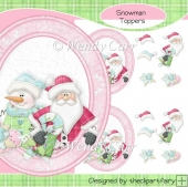 Christmas in Pink Toppers(Retiring in August)