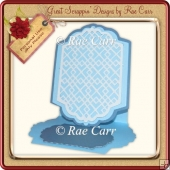 440 Easel Lattice Card & Toppers *Multiple MACHINE Formats*