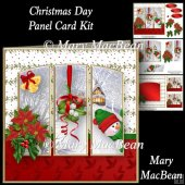 Christmas Day - Panel Card Kit