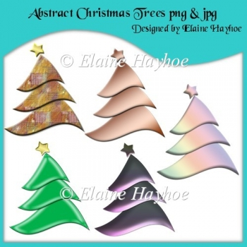 Abstract Trees Clipart