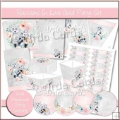 Raccoons In Love Gold Party Set
