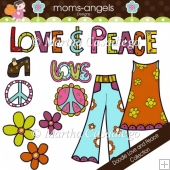 Doodle Peace and Love Collection