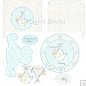 Baby Boy Plate Card With Box