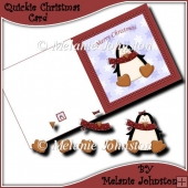 Penguin Quickie Christmas card.