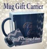 Mug Carrier Gift Box from 12x12 or A4 card