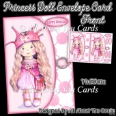 Princess Doll Envelope Card Front