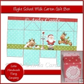 Flight School Milk Carton Gift Box