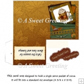 DIY Fall Warm Toes & Tummys Cocoa Card