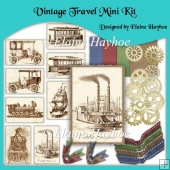 Vintage Travel MIni Kit