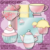 Teatime Clipart Collection