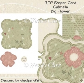 RTP Shaper - Big Flower - Gabriella(Retiring in August)