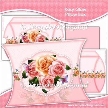 Rosy Glow Pillow Box