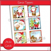 Santa Toppers
