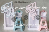 Babys Highchair & Box, SVG,MTC,SCAL,ScanNCut, Cricut,Explore,Air