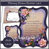 Morning Blooms Bracket Card