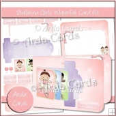 Ballerina Girls Waterfall Card Kit
