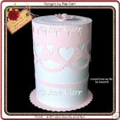 490 Wedding Cake Box *HAND & MACHINE Formats*