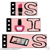 Sis Make-up Word Book Set
