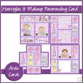Hairstyles & Make Up Neverending Card