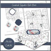 Coastal Square Gift Box