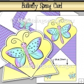 Butterfly Spring Card