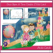 Once Upon A Time Z Fold Card