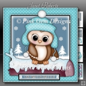 Owl I Want For Xmas 3 Mini Kit